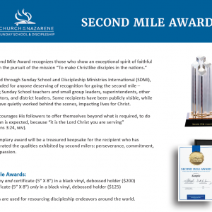 Second Mile Award